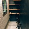 DIYで倉庫・自転車置き場製作。塗り壁&完成編。