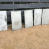 中庭コンクリート板計画・型枠編